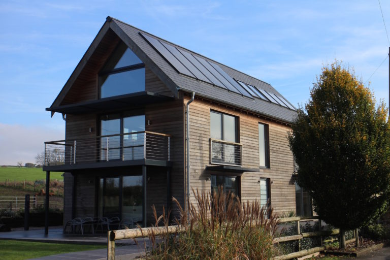 Completed new Passivhaus build