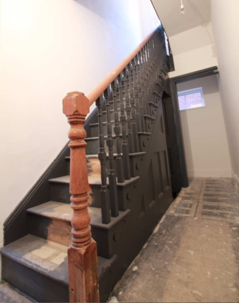 Reinstated Staircase